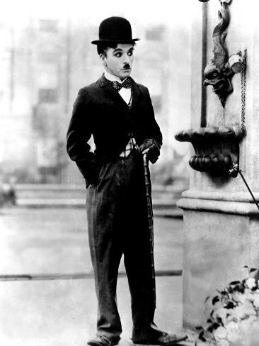 City Lights, Charlie Chaplin, 1931 Photo