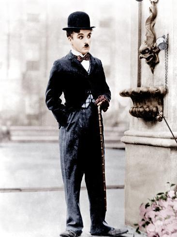 City Lights, Charlie Chaplin, 1931 写真