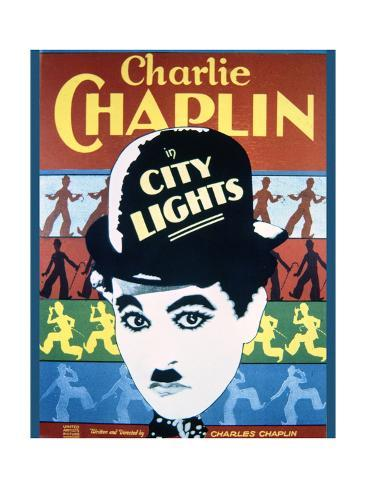 City Lights - Movie Poster Reproduction Art Print