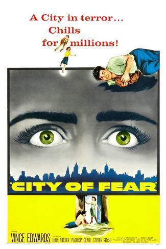 City of Fear Art Print