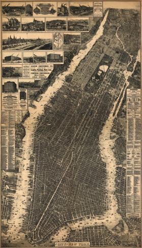 City of New York, c.1897 Art Print
