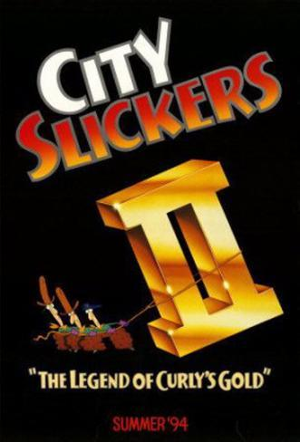 City Slickers 2 Original Poster