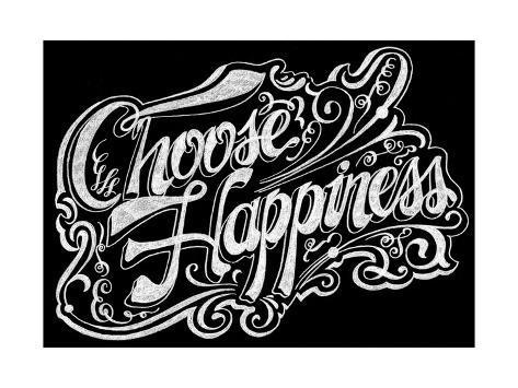 Choose Hapiness Giclee Print