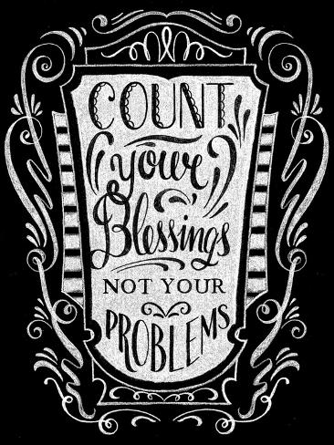 Count Your Blessings Giclee Print