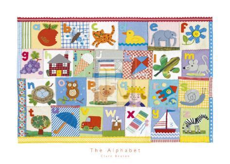 The Alphabet Art Print