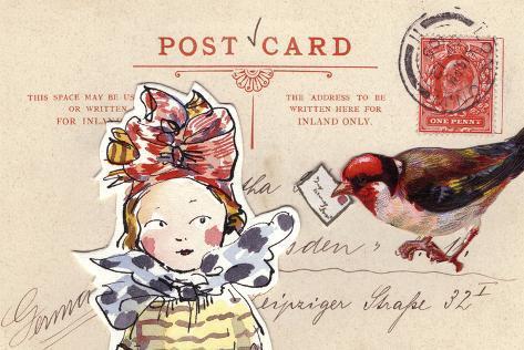 Carte Postal I Art Print
