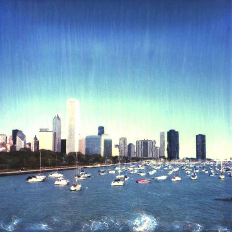 Chicago Skyline, Illinois Photographic Print