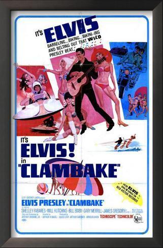 Clambake Framed Art Print