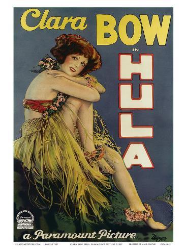 Clara Bow Hula, Paramount Picture c.1927 Art Print