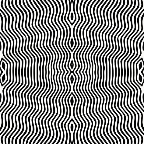Vector - Optical Art Art Print