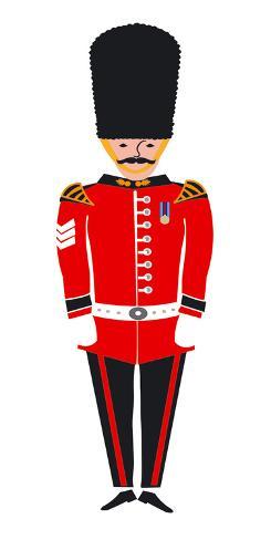 Grenadier Guard Art Print