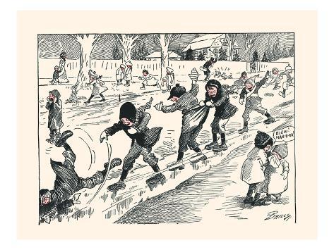 The First Sliding Art Print