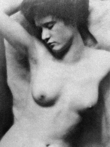 Reclining Nude, C1910 Photographic Print