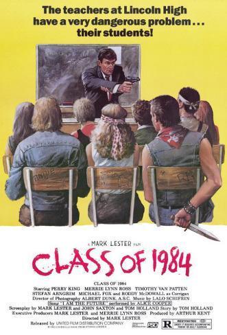 Class of 84 Masterprint