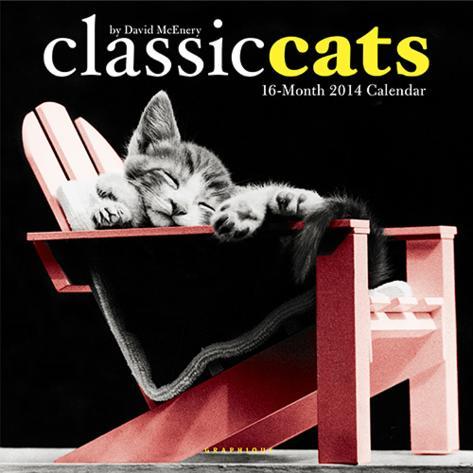 Classic Cats: David McEnery - 2014 Calendar Calendars