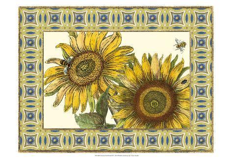 Classical Sunflower II Art Print