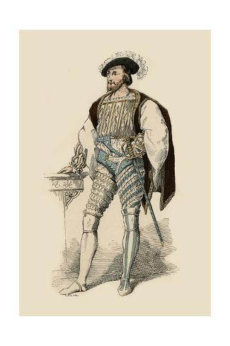 Claude de Lorraine Lámina giclée