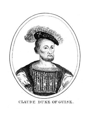 Claude Duc de Guise Lámina giclée