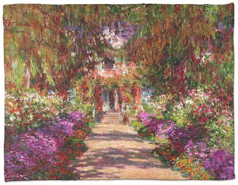 A Pathway In Monetu0027s Garden, Giverny, 1902
