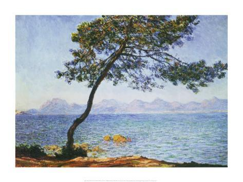 Antibes Stretched Canvas Print