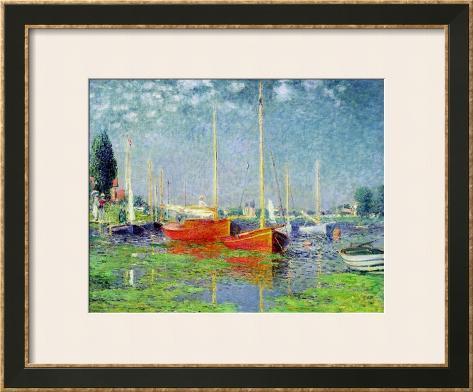 Argenteuil, circa 1872-5 Framed Art Print