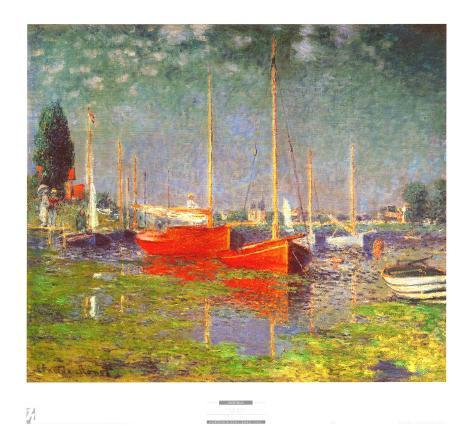 Argenteuil Framed Art Print