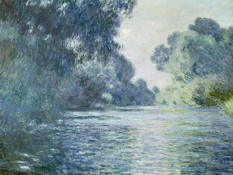 Branch of the Seine Near Giverny, 1897 Giclee Print