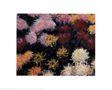 Chrysanthemum, 1897 Art Print