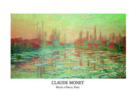 Debacle Sur la Seine Art Print