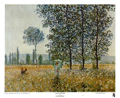 Fields in Spring Art Print