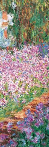 Garden (detail) Reproducción de lámina sobre lienzo
