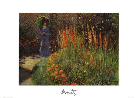 Garden Path Art Print