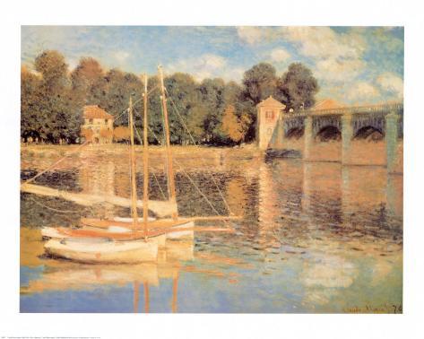 Il Pont d'Argenteuil Art Print