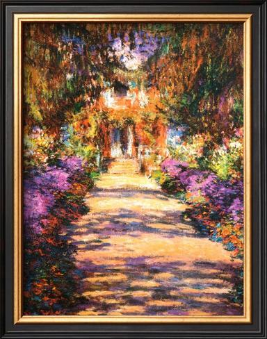 Il Viale del Gardino Framed Art Print