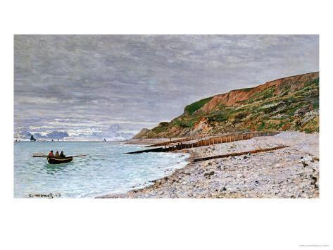 La Pointe De La Heve, 1864 Giclee Print