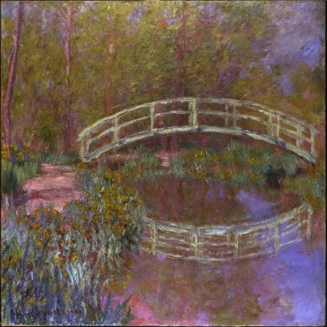 Le Pont Japonais Dans le Jardin de Monet Giclee Print