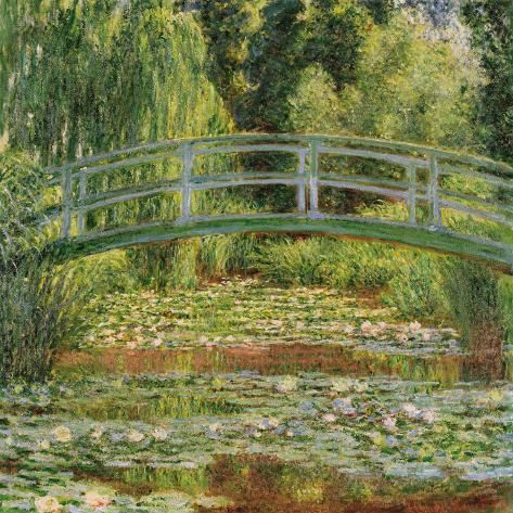 Le Pont Japonais, Giverny Art Print