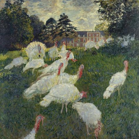 Les Dindons (The Turkeys) Giclee Print