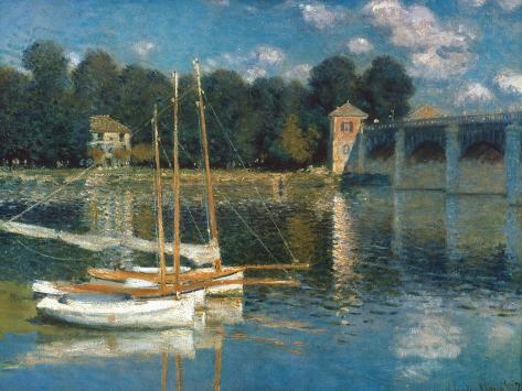 Monet: Argenteuil Giclee Print