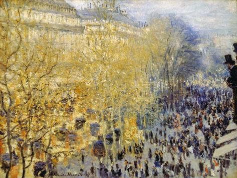 Monet: Carnival, 1873 Giclee Print