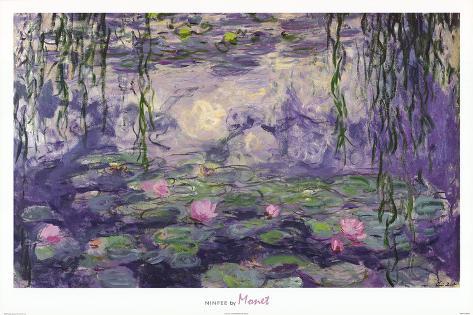 Claude Monet Ninfee Water Lilies Art Print Poster Poster