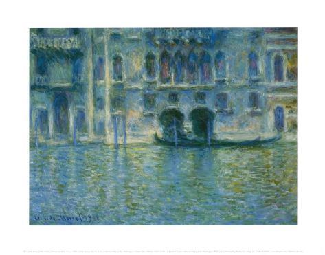 Palazzo Da Mula, Venice Art Print
