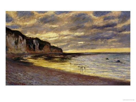 Pointe de Lailly, Maree Basse, 1882 Impressão giclée
