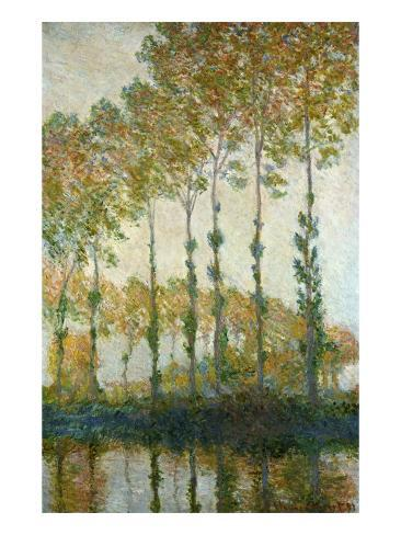 Poplars on the Epte Giclee Print