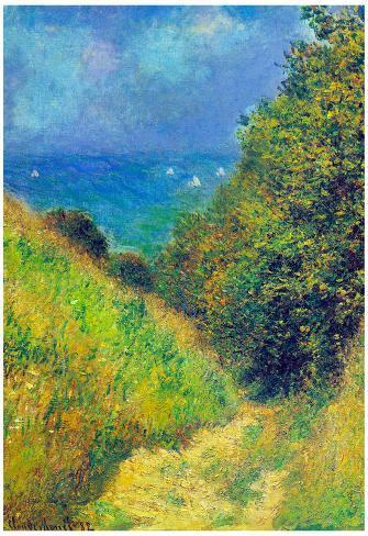 Claude Monet Pourville #2 Art Print Poster Poster