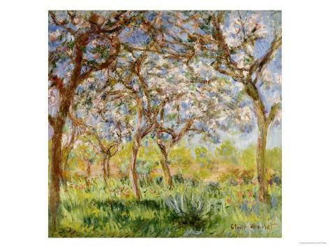Spring at Giverny Giclee Print
