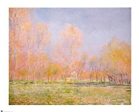 Spring in Giverny, 1890 Art Print