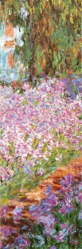 The Artist's Garden at Giverny, c.1900 (detail) Poster