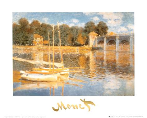 The Bridge at Argenteuil Art Print
