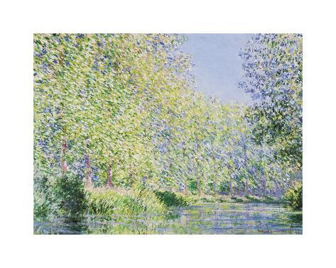 The Epte River near Giverny Giclee Print